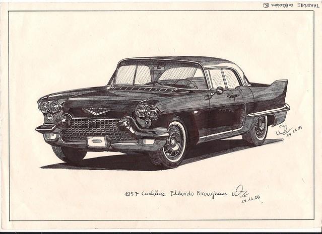 cadillac eldorado 1957 brougham