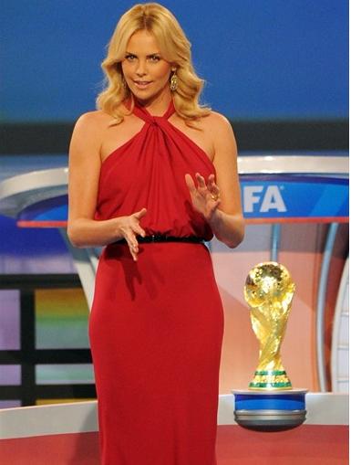 Charlize Theron Fifa 2010