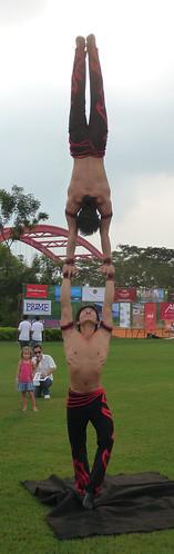 Balancing act Loreto Fest Saigon