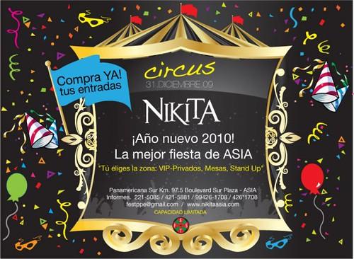 Circus Fest - Discoteca Nikita