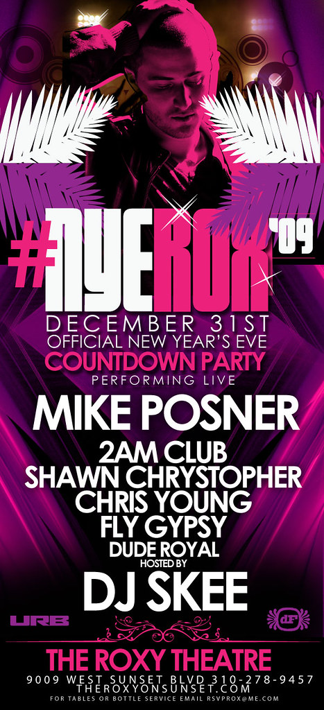 NYEROX Mike Posner December 31, 2009