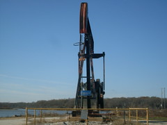 oil well, hagerman national wildlife preserve, texas