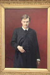Portrait of the composer Alexander Glazunov by...