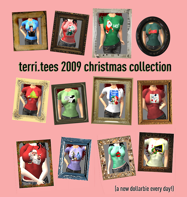 terri.tees 2009 christmas collection