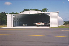 SteelMaster Steel Hangar