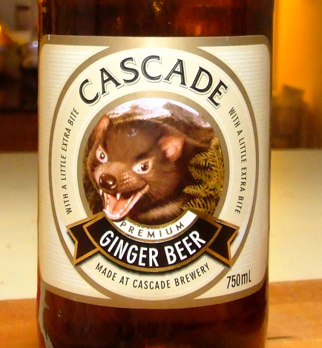 cascade ginger beer