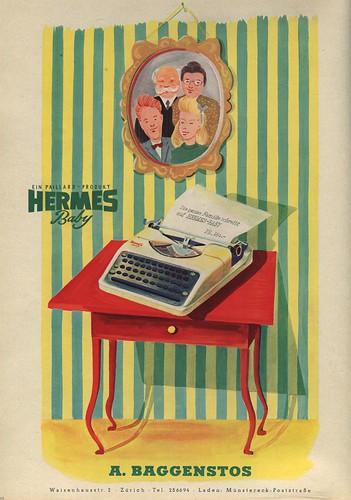 Du 1945-08 Hermes Baby