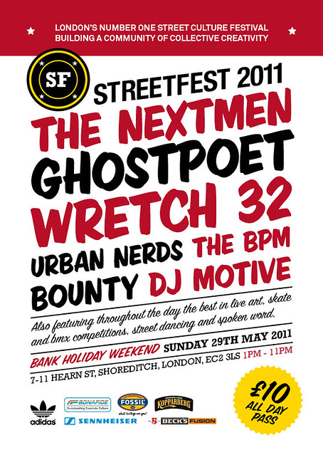 streetfest MUSIC FLYER 2011
