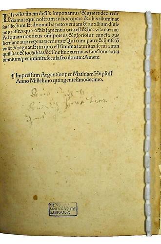 Manuscript inscription in Albertus Magnus [pseudo-]: Secreta mulierum et virorum (cum commento)
