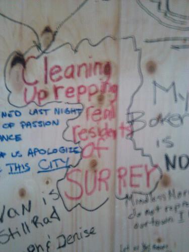 Natalie Binns - Vancouver Cleanup