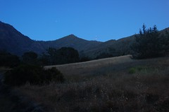 Mt. Diablo State Park - view from Donner Canyon Rd. before sunrise