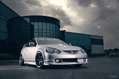 Jay's RSX (Evano Gucciardo) Tags: lighting newyork car honda nikon flash wheels dramatic automotive rochester vehicle rps lower tuner flush acura jdm strobe stance rota 18105 rsx wescott d90 strobist worldcars