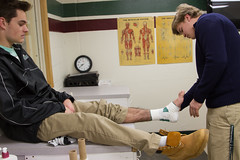 Sports Med-8443 (New Hampton School) Tags: adamtyson athletictraining sportsmedicine