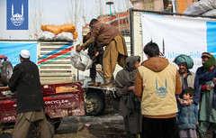 Islamic Relief winterization program in Kabul, Afghanistan