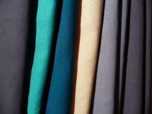 my fabrics for TTQB
