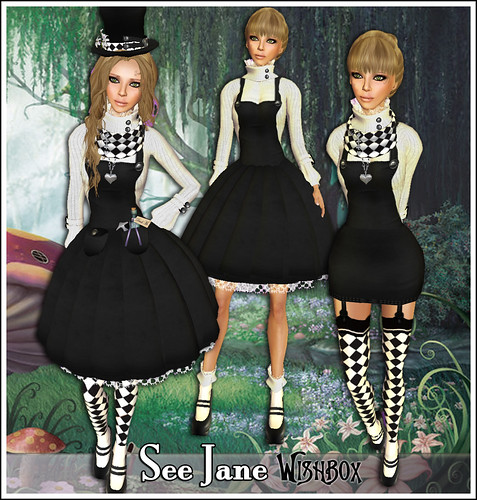 See Jane - Three styles