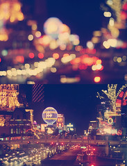 The Strip. (Kristine May.) Tags: lasvegas bokeh nevada dip