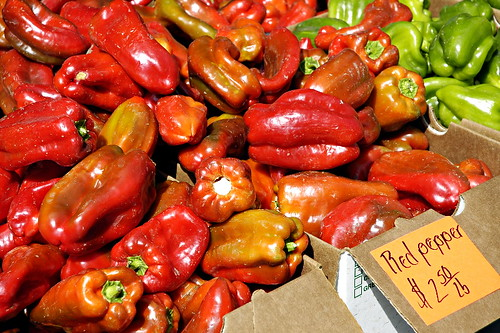 Local Organic Peppers