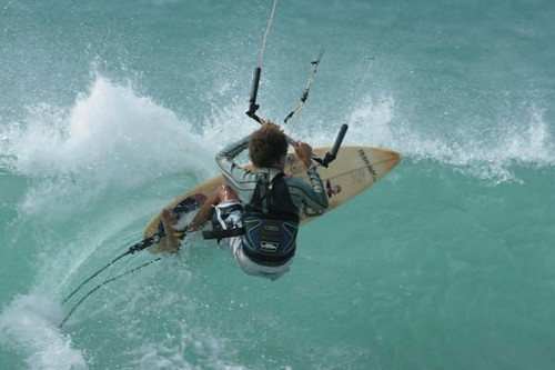 Kite Surfing in Boa Vista, Cape Verde Islands