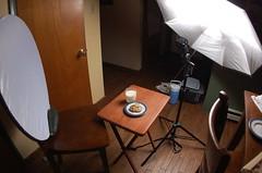 Strobist Food Setup
