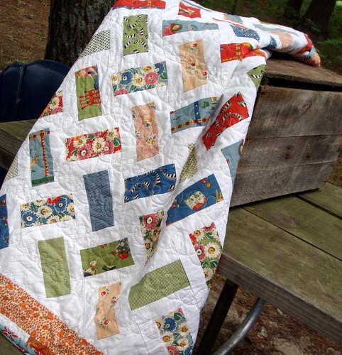 vintage inspired quilt