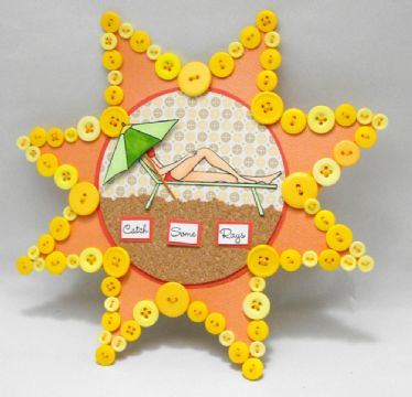 Belinda Chang's Catch Some Rays Card