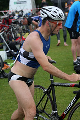 mike arthur meadows triathlon 2009 lochore mikearthur