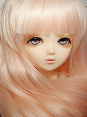(Disorder Heaven) Tags: pink blue computer robot doll blueeyes rosa bjd sarang pinkhair pai mueca bluefairy nikoncoolpixp2 tfsarang