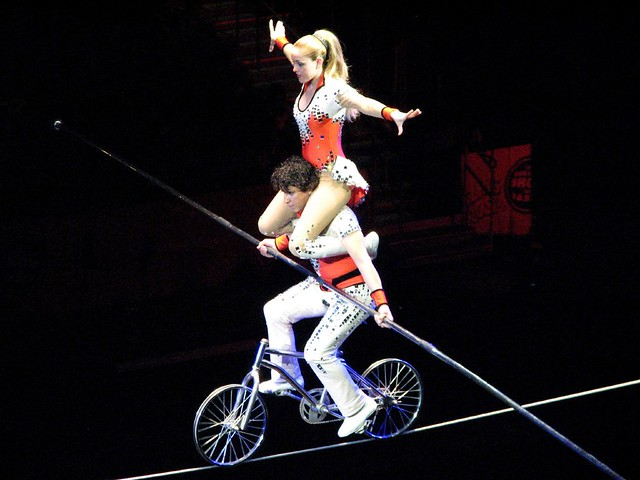 tight rope bike