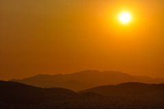 One hot summer day (Faddoush) Tags: city sunset sun hot yellow nikon hellas athens explore greece frontpage faddoush