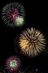 淀川花火大会 The Fireworks on the river Yodo