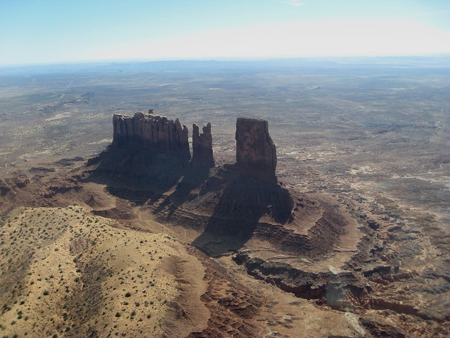 Over Monument Valley, Navajo Nation