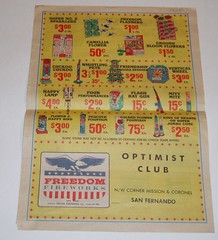 1985 Freedom Fireworks brochure