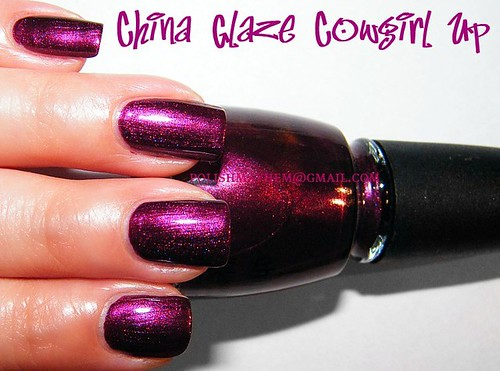 China Glaze Cowgirl Up