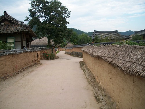 Hahoe Village in Andong