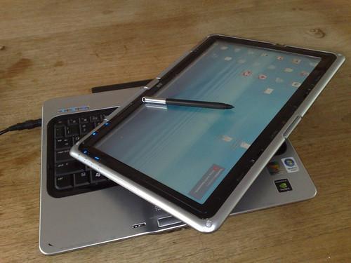 tablet pc hp. een Tablet PC met Windows