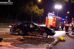 Schwerer Verkehrsunfall Äppelallee 24.08.09