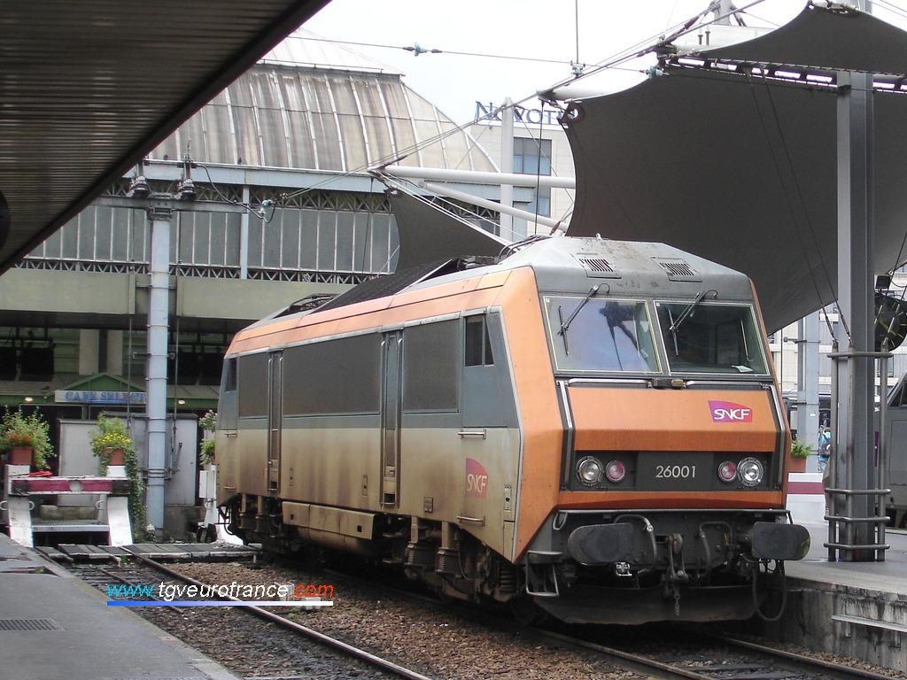 La première locomotive électrique de la série