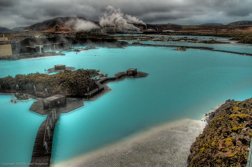 Blue Lagoon overlook - Iceland