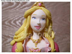 Barbie Genevieve (...and Hiatus) (Dragonfly Doces) Tags: cake de doll dancing princess barbie pasta americana bolo boneca doze twelve genevieve gumpaste bailarinas princesas