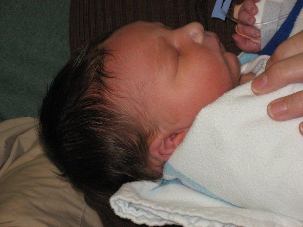 my first nephew, Reo Wesley Kopp