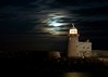 Howth Light House (shaymurphy) Tags: nightphotography ireland light sea sky howth dublin irish moon lighthouse house night clouds pier long exposure nikkor50mm nikond300 irishlighthouse