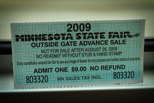 fair ticket