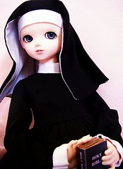 Sister Mary Ccile (RubyconCream) Tags: blue girl
