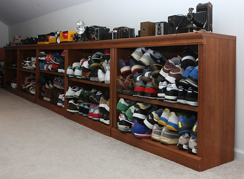 Shoe And Camera Collection