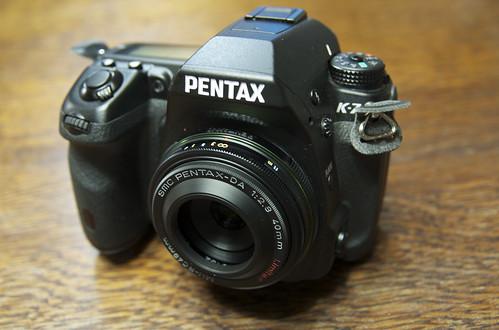Pentax K-7 DA40mm