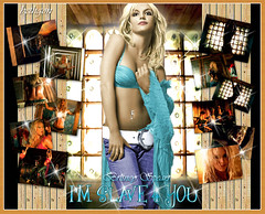 britney spears I'm slave 4 you (BETHGON blends) Tags: for flickr princess you spears pop princesa britney slave blend bethgon