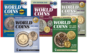 Krause Standard Catalog World Coins CDs