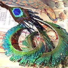 A Peacock's Tale (pendant)