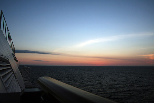 Carnival Splendor - Mazatlan Sunset (Bow and Clouds)